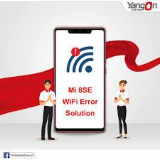 Mi 8 SE Wifi Error Fix